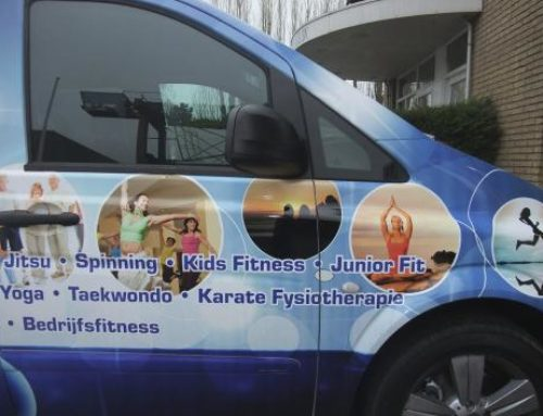 FS Sports autoreclame in carwrap
