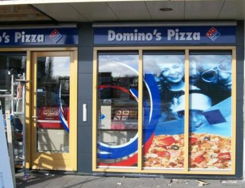 Domino's Pizza outstore-reclame