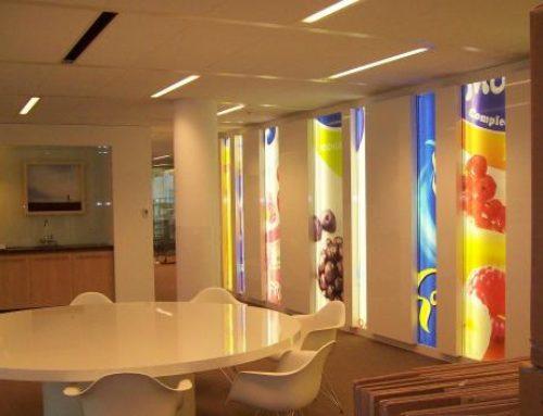 Friesland Campina lichtbak indoorreclame