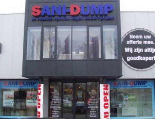Sanidump instore en outstore reclame