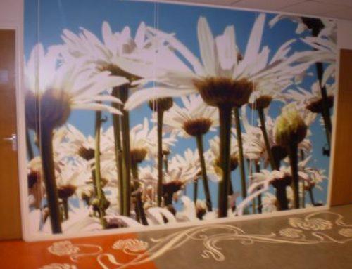 Riagg Rotterdam wallpapers en en plakfolie