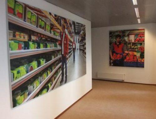 Unilever indoorreclame