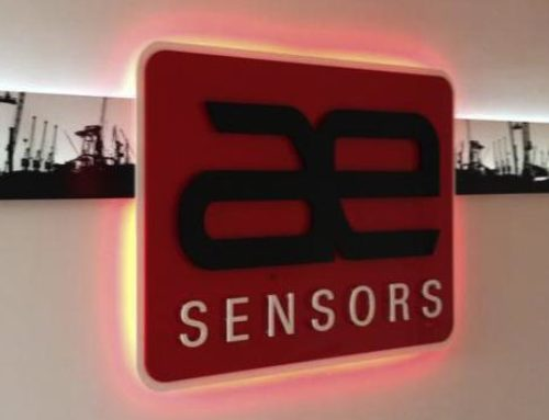 AE Sensors logopresentatie