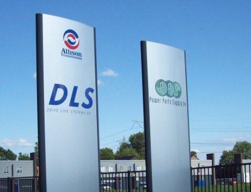 DLS & PPS reclamezuil