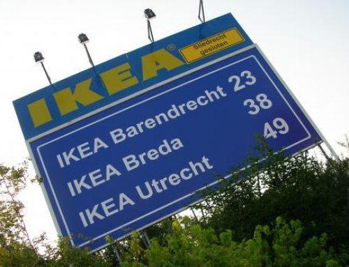 IKEA reclameborden