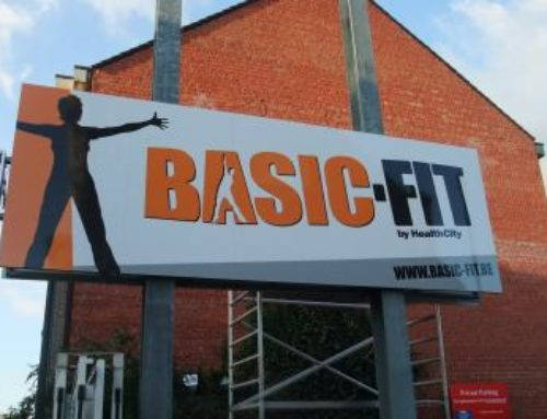 Basic-Fit reclameborden