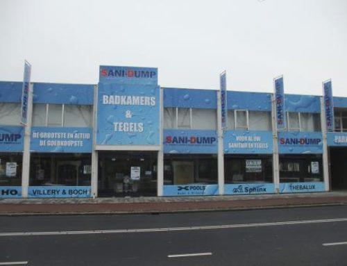 SaniDump reclameborden