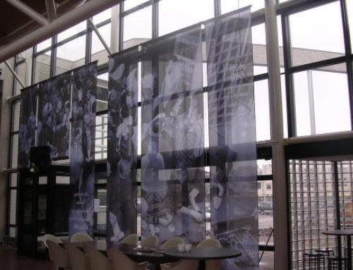 Hof van Twente indoorreclame