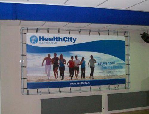 HealthCity reclamespandoeken