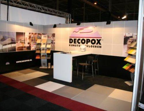 Decopox beursstand ontwerp en bouw