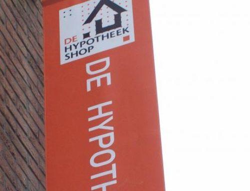 Hypotheekshop reclamevlaggen en -banieren