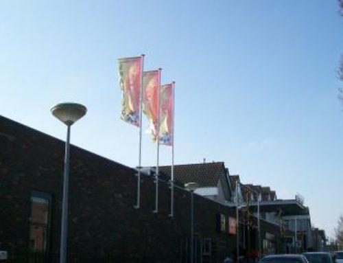 Skagerhof reclamevlaggen